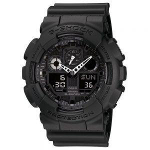 CASIO tactical watch G-SHOCK G shock STANDARD GA-100-1A1JF Men's -- Best Tactical Watches