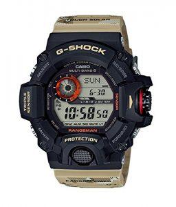 G-Shock Master of G 9400 Desert Camo Series Tactical Watch - Beige - One Size