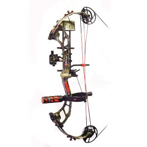 PSE Drive R, RTS Pro Package, RH, Mossy Oak Country, 70lbs - Best Compound Bows for Women