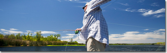 Step 3 - How to fly fish Guide