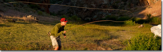 Step-1 How to fly fish cast