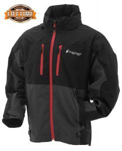 Frogg Toggs Pilot II Guide Jacket, Black-Charcoal Gray, Lifetime Warranty