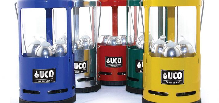 UCO Candlelier Deluxe Candle Lantern Review - Available in 5 Colors